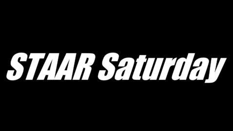 Thumbnail for entry Yellow Media Presents: 2013 STAAR Saturday Announcement Video