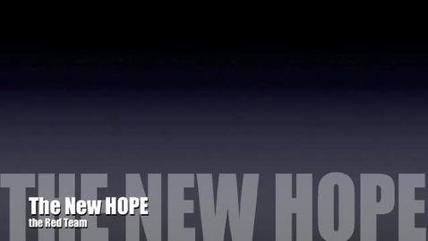 Thumbnail for entry The New HOPE