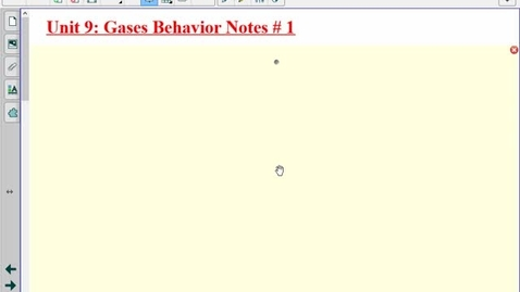 Thumbnail for entry Gas Laws Notes #1
