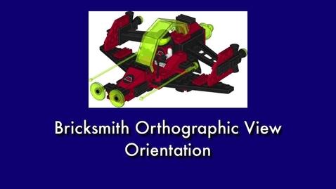 Thumbnail for entry Bricksmith View Orientation