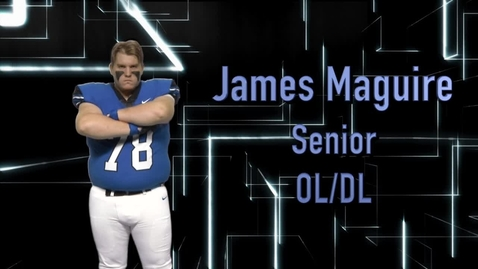 Thumbnail for entry Ladue Football Player Profile: James Maguire