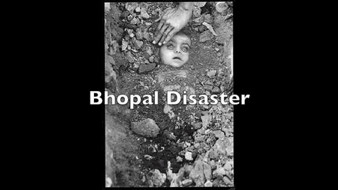 Thumbnail for entry Bhopal Disaster- Henry Callan