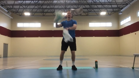 Thumbnail for entry Juggling with Plastic Bags Coach Brown/Ford  Physical Education Class. Have fun! Practice,practice,practice