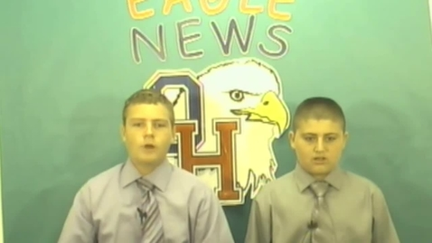 Thumbnail for entry Eagle News for August 29th, 2012