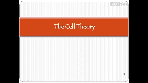 Thumbnail for entry Mr. Perez Cell Theory