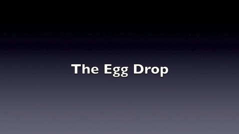 "Thumbnail for entry News Feature- ""Egg Drop,"" Knudson Middle School"