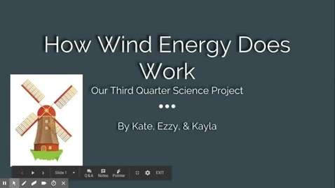 Thumbnail for entry Wind Energy & Work