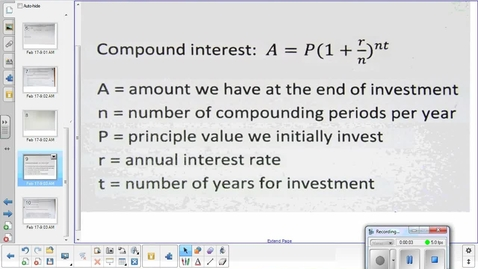 Thumbnail for entry Exponentials lesson pt 3   2-19-15