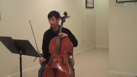 Thumbnail for entry Cello Performance
