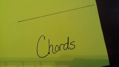 Thumbnail for entry Arcs and Chords