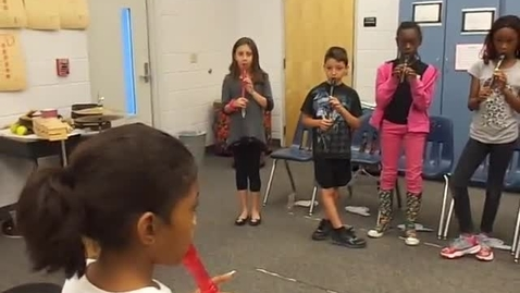"""Thumbnail for entry Ms. Howell's 4th grade class """"recorder"""""""