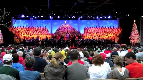 Thumbnail for entry Candlelight Processional at Epcot featuring Whoopi Goldberg - 2009