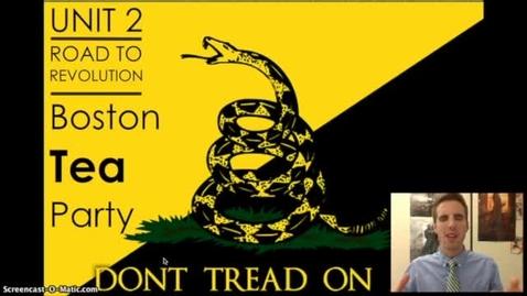 Thumbnail for entry Road to Revolution #7 - The Boston Tea Party
