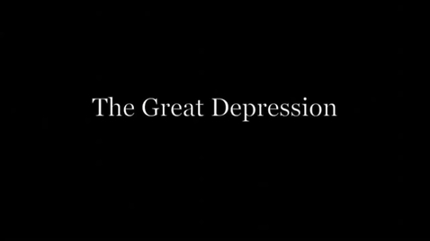 Thumbnail for entry The Great Depression: Letters From Home