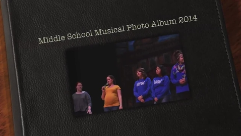 Thumbnail for entry Middle School Musical Photo Album 2014