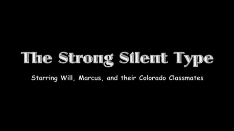 Thumbnail for entry The Strong Silent Type