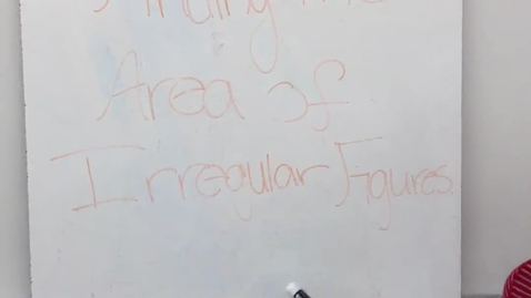 Thumbnail for entry Perimeter and Area of Irregular Figures - Part 1