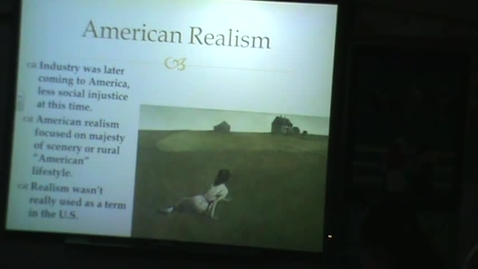 Thumbnail for entry American Realism