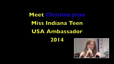 Thumbnail for entry Meet Christina Jesse, Homestead Junior