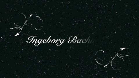 Thumbnail for entry Ingeborg Bachmann