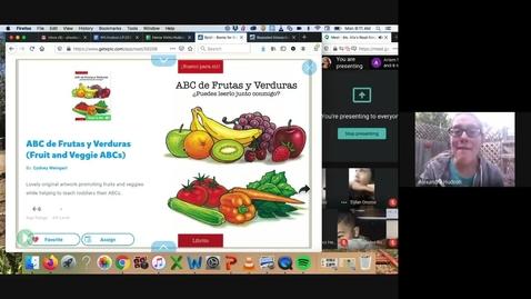Thumbnail for entry ABC de Frutas y Verduras