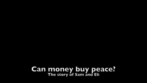 Thumbnail for entry Can Money Buy Peace?