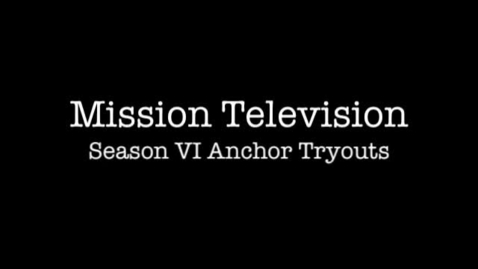 Thumbnail for entry MTV Season VI Anchor Tryouts