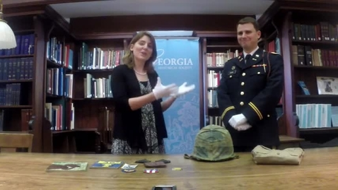Thumbnail for entry Sophia's Schoolhouse Episode 006: WWII US M1 Helmet
