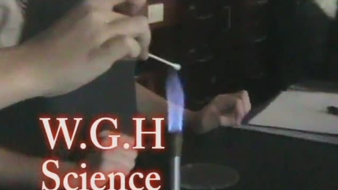 Thumbnail for entry WGH Science Feature - WSCN (2009-2010)