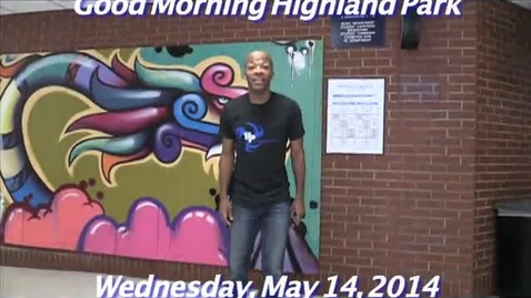 Thumbnail for entry Wednesday, May 14, 2014