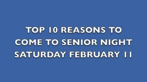 Thumbnail for entry Basketball Senior Night - OLHS