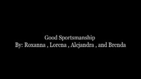 Thumbnail for entry MIAA Sportsmanship Contest 2009