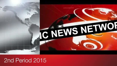 Thumbnail for entry 2nd Period Civics Newscast 2015