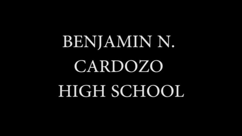 Thumbnail for entry Cardozo HS Graduation Video 2017