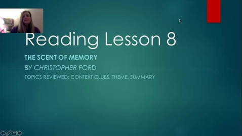 Thumbnail for entry reading lesson 8