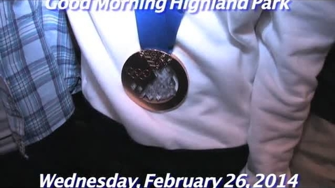 Thumbnail for entry Wednesday, February 26, 2014