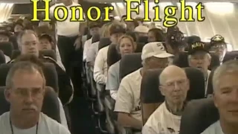 Thumbnail for entry Gahanna Lincoln Special News Show about Honor Flight