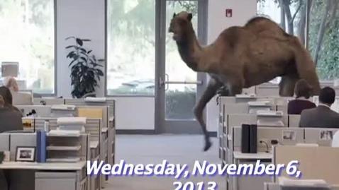 Thumbnail for entry Wednesday, November 6, 2013