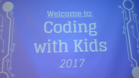 Thumbnail for entry Coding With Kids