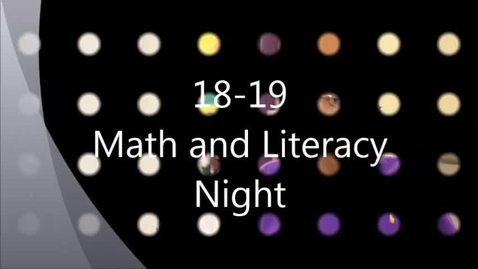 Thumbnail for entry 10-18-18 IMS Math Literacy Night