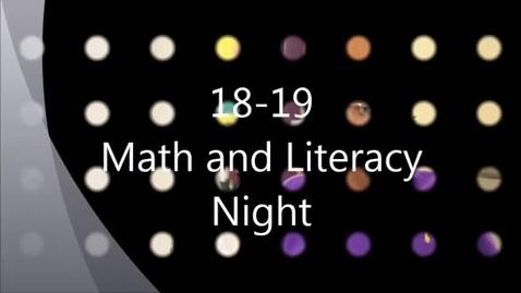 Thumbnail for entry 10-18-18 IMS Math Literacy Night