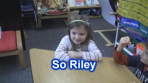 Thumbnail for entry GTV Interviews Kindergarteners: Week 2