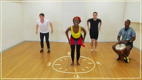 Thumbnail for entry Five(ish) Minute Dance Lesson - African Dance: Lesson 3: Dancing on the Clock