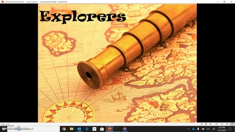 Thumbnail for entry Age of Exploration-Explorers