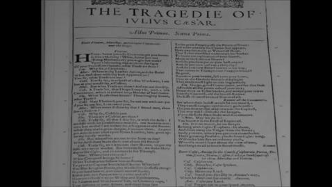 Thumbnail for entry Julius Caesar [OFFICIAL BOOK TRAILER]