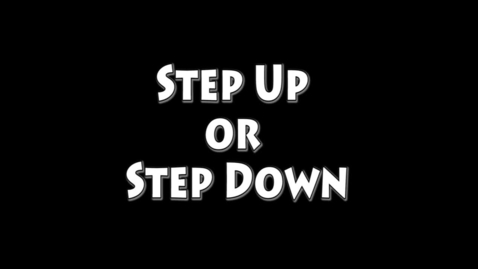 Thumbnail for entry Step Up Step Down Shiloh High School 2014