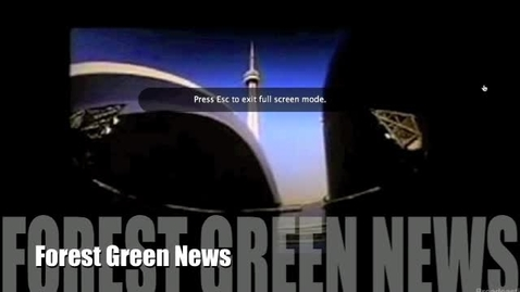 Thumbnail for entry Forest Green News Jan. 21, 2011