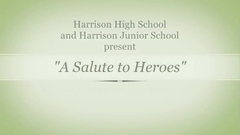 Thumbnail for entry A Salute to Heroes 2015
