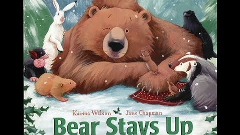 Thumbnail for entry Bear Stays Up For Christmas