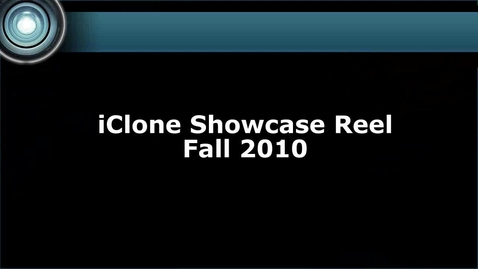 Thumbnail for entry iClone - Developer Content Reel FALL 2010